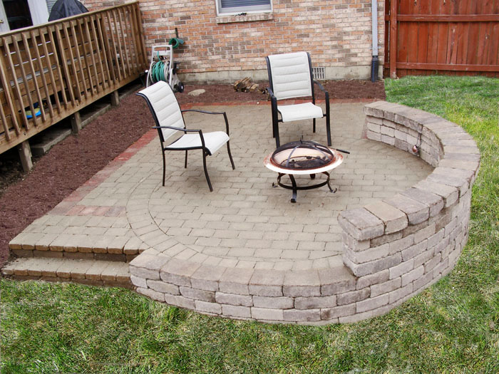 Backyard Hardscape Design Ideas : Brick Pavers  Our Comprehensive List of Services